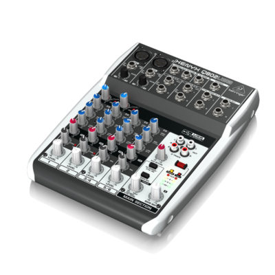 BEHRINGER XENYX Q802USB Premium 8-Input 2-Bus Mixer BEHRINGER XENYX Q802USB เครื่องผสมสัญญาณเสียงอนาล็อก BEHRINGER XENYX Q802USBมิกเซอร์อนาล็อก