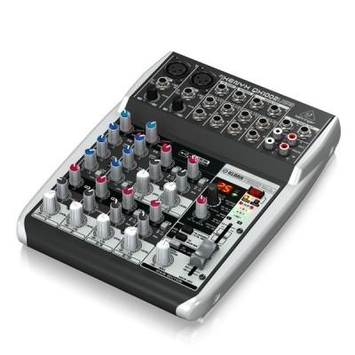 Premium 10-Input 2-Bus Mixer BEHRINGER XENYX QX1002USB เครื่องผสมสัญญาณเสียงอนาล็อก Premium 10-Input 2-BusBEHRINGER XENYX QX1002USB มิกเซอร์ อนาล็อก