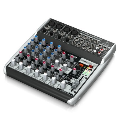Premium 12-Input 2-Bus Mixer BEHRINGER XENYXQX1202USB เครื่องผสมสัญญาณเสียง อนาล็อก 12-Input 2-BusBEHRINGER XENYXQX1202USB มิกเซอร์อนาล็อก