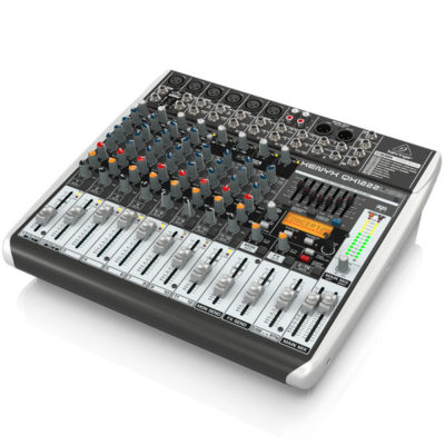 BEHRINGERXENYXQX1222USB Premium 16-Input 2/2-Bus Mixer BEHRINGER XENYXQX1222USB เครื่องผสมสัญญาณเสียง อนาล็อก BEHRINGER XENYXQX1222USBมิกเซอร์อนาล็อก