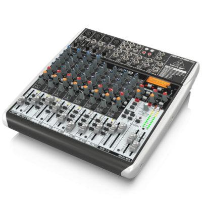 BEHRINGERXENYXQX1622USB Premium 16-Input 2-2Bus Mixer BEHRINGER XENYX QX1622USB เครื่องผสมสัญญาณเสียงอนาล็อก BEHRINGER XENYX QX1622USBมิกเซอร์อนาล็อก