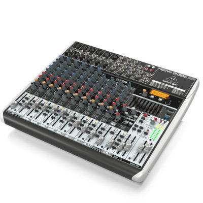 BEHRINGERXENYXQX1832USB Premium 18-Input 3/2-Bus Mixer BEHRINGER XENYX QX1832USB เครื่องผสมสัญญาณเสียง อนาล็อก BEHRINGER XENYX QX1832USBมิกเซอร์อนาล็อก
