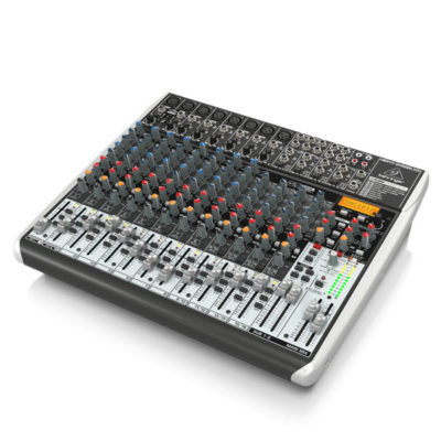 BEHRINGERXENYXQX2222USB Premium 22-Input 2/2-Bus Mixer BEHRINGER XENYX QX2222USB เครื่องผสมสัญญาณเสียง อนาล็อก BEHRINGER XENYX QX2222USBมิกเซอร์อนาล็อก
