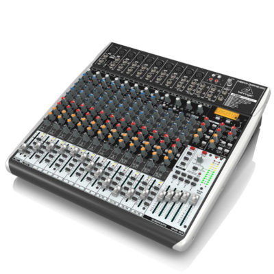 BEHRINGERXENYXQX2442USB Premium 24-Input 4/2-Bus Mixer BEHRINGER XENYX QX2442USB เครื่องผสมสัญญาณเสียง อนาล็อก BEHRINGER XENYX QX2442USBมิกเซอร์อนาล็อก