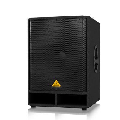 BEHRINGER VQ1800D ตู้ลำโพงซับวูฟเฟอร์ 18 นิ้ว 500 วัตต์ มีแอมป์ในตัว คลาส D และมีสเตอริโอ ครอสโอเวอร์BEHRINGER VQ1800DลำโพงActive