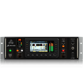 BEHRINGER X32 RACK 40-Input, 25-Bus Digital Rack Mixer with 16 Programmable MIDAS Preamps, USB Audio Interface and iPad/iPhone* Remote Contro