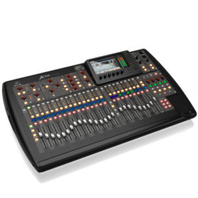BEHRINGER X32 40-Input, 25-Bus with 32 Programmable Preamps, 25 Motorized Faders, Channel LCD's, 32-Channel Audio Interface and iPad/iPhone* Remote Control