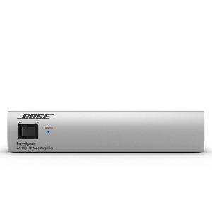 BOSE FreeSpace® ZA 190-HZ เพาเวอร์แอมป์ลายน์ 70V/100V 1 ชาแนล 1×90 วัตต์ ออกแบบสำหรับการขยายระบบเสียง โดยใช้สัญญาณเสียงจาก FreeSpace IZA 250-LZ / IZA190-HZ