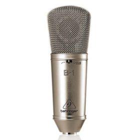 BEHRINGERB-1 Gold-Sputtered Large-Diaphragm Studio Condenser Microphone BEHRINGERB-1 ไมค์บันทึกเสียงBEHRINGERB-1ไมโครโพนสำหรับห้องบันทึกเสียง แบบ 1 หน้าBEHRINGERB1 ไมค์ห้องอัด