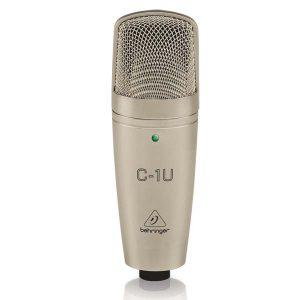 BEHRINGERC-1U USB Studio Condenser Microphone BEHRINGER C-1U ไมค์บันทึกเสียง BEHRINGER C-1Uไมโครโพนสำหรับห้องบันทึกเสียง BEHRINGER C1Uไมค์ห้องอัด