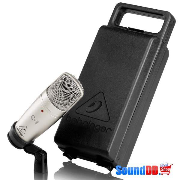 BEHRINGERC-3 Dual-Diaphragm Studio Condenser Microphone BEHRINGER C-3 ไมค์บันทึกเสียง BEHRINGER C-3ไมโครโพนสำหรับห้องบันทึกเสียง BEHRINGER C3ไมค์ห้องอัด