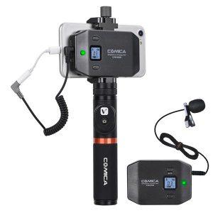 COMICA CVM-WS50 UHF(794MHz~806MHz) 6-Channels Smartphone Wireless COMICA CVM-WS50 ชุดไมโครโฟนไร้สาย 6 ชาแนล สำหรับสมาร์ทโฟน ย่าน UHF (794MHz~806MHz)