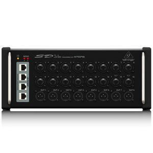 BEHRINGERSD16 I/O Stage Box with 16 Remote-Controllable MIDAS Preamps, 8 Outputs, AES50 Networking and ULTRANET Personal Monitoring Hub BEHRINGERSD16 I/O Stage Box ดิจิตอล สเตจบ๊อกซ์