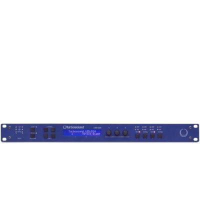 TURBOSOUND TLM LMS-D24 2 Input, 4 Output Digital Loudspeaker Management System with BV-Net Card TURBOSOUND LMS-D24 ดิจิตอลโปรเซสเซอร์ DSP 2 Input, 4 Output พร้อม BV-Net CardTURBOSOUND LMS D24
