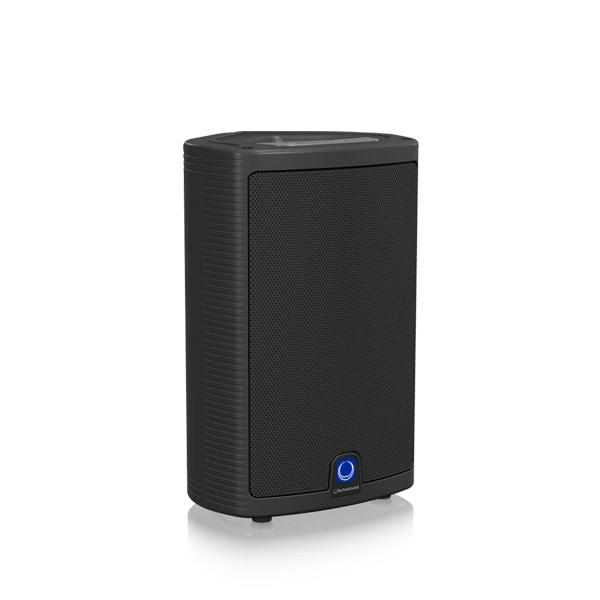 TURBOSOUND M10 ตู้ลำโพง 10 นิ้ว 2 ทาง 600 วัตต์ มีแอมป์ในตัว คลาส D ตอบสนองความถี่ 55 Hz–18 kHz ±3 dBTURBOSOUND M-10 ลำโพง 10 นิ้ว