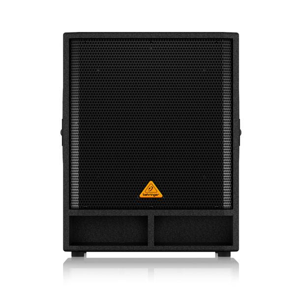 "BEHRINGERVP1800S Professional 1600-Watt 18"" PA Subwoofer BEHRINGER VP1800S ตู้ลำโพงซับวูฟเฟอร์ 18 นิ้ว 1,600 วัตต์BEHRINGER VP1800S ลำโพงซับวูฟเฟอร์"
