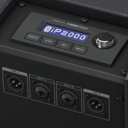 "TURBOSOUND iNSPIREiP2000 1,000 Watt Powered Column Loudspeaker with a 12"" Subwoofer, 17 Neodymium Drivers, KLARK TEKNIK Spatial Sound Technology, Digital Mixer, Remote Control via iPhone/iPad and Bluetooth Audio Streaming TURBOSOUND iP2000 ชุดเครื่องเสียงพกพา เครื่องเสียงเคลื่อนที่ คลาส D 1000 วัตต์ สามารถเชื่อมต่อ Bluetooth และ ควบคุม ด้วย iPhone/iPad ได้ TURBOSOUND iP-2000 ลำโพงคอลัมน์ พร้อมซับวูฟเฟอร์"