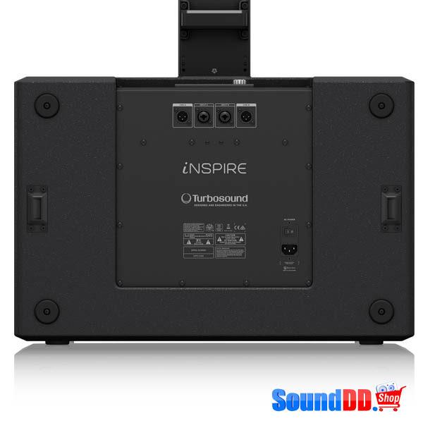 "TURBOSOUND iNSPIREiP30002,000 Watt Powered Column Loudspeaker with a 2 x 12"" Subwoofer, 18 Neodymium Drivers, KLARK TEKNIK Spatial Sound Technology, Digital Mixer, Reverb, Remote Control via Smart Phone and Bluetooth Audio Streaming TURBOSOUND iP3000 ชุดเครื่องเสียงพกพา เครื่องเสียงเคลื่อนที่ คลาส D 2000 วัตต์ สามารถเชื่อมต่อ Bluetooth และ ควบคุม ด้วย iPhone/iPad ได้ TURBOSOUND iP-3000 ลำโพงคอลัมน์ พร้อมซับวูฟเฟอร์"