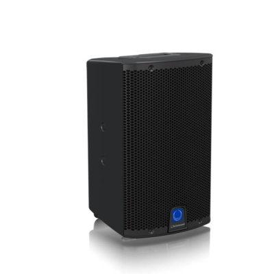 TURBOSOUNDiQ8 ตู้ลำโพง 8 นิ้ว 2 ทาง 2,500 วัตต์ มีแอมป์ในตัว คลาส D ตอบสนองความถี่ 60 Hz – 18 kHz ±3 dB และ 55 Hz – 20 kHz -10 dB ลำโพง 8 นิ้ว
