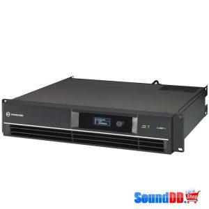 DYNACORDC1300FDI DSP POWER AMPLIFIER 2X650W, INSTALL DYNACORD C1300FDI เพาเวอร์แอมป์ลายน์ 70V/100V DSP 2 ชาเเนล คลาส AB 2x650 วัตต์ ที่ 4 โอห์ม DYNACORD C1300 FDI