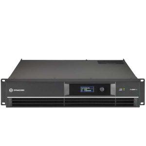 DYNACORDC1800FDI DSP POWER AMPLIFIER 2X950W, INSTALL DYNACORD C1800FDI เพาเวอร์แอมป์ลายน์ 70V/100V DSP 2 ชาเเนล คลาส AB 2x950 วัตต์ ที่ 4 โอห์ม DYNACORD C1800 FDI