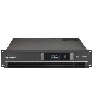 DYNACORDC2800FDI DSP POWER AMPLIFIER 2X1400W, INSTALL DYNACORD C2800FDI เพาเวอร์แอมป์ลายน์ 70V/100V DSP 2 ชาเเนล คลาส H 2x1400 วัตต์ ที่ 4 โอห์ม DYNACORD C2800 FDI