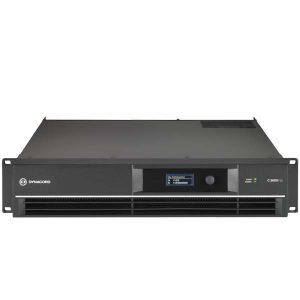 DYNACORDC3600FDI DSP POWER AMPLIFIER 2X1800W, INSTALL DYNACORD C3600FDI เพาเวอร์แอมป์ลายน์ 70V/100V DSP 2 ชาเเนล คลาส H 2x1800 วัตต์ ที่ 4 โอห์ม DYNACORD C3600 FDI