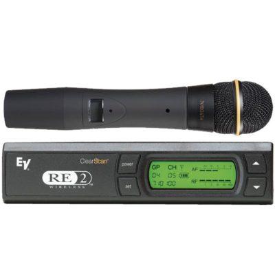 EV RE2-N2 Single Handheld Wireless Microphone EV RE2-N2 ไมค์ลอย ไมโครโฟนไร้สาย แบบมือถือเดี่ยว ย่าน UHF Electro-VoiceRE2-N2