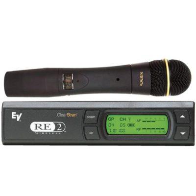 EV RE2-N7 Single Handheld Wireless Microphone EV RE2-N7 ไมค์ลอย ไมโครโฟนไร้สายแบบมือถือเดี่ยว ย่าน UHF Electro-VoiceRE2-N7 ชุดไมค์ลอยมือถือเดี่ยว ไมโครโฟนไร้สาย มือถือเดี่ยว พร้อมเครื่องรับสัญญาณ