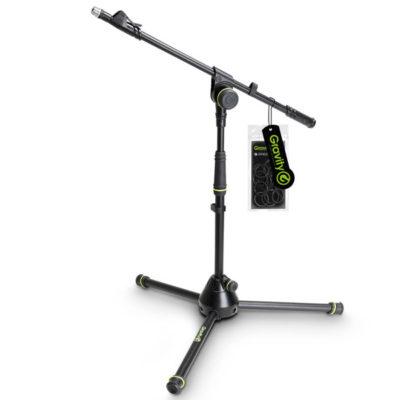 GRAVITY GMS4212B Short Microphone Stand with Folding Tripod Base and 1-Point Adjustment Telescoping Boom GRAVITY GMS4212B ขาตั้งไมโครโฟน แบบเหล็ก Boom ยาว 88 ซมปรับความสูงได้สูงสุด 74 ซม. ต่ำสุด 51 ซม. มีน้ำหนัก 2.2 กก. เวลาพับเก็บสำหรับเคลื่อนย้าย ยาว 65 ซม. GRAVITY G MS 4212 B Microphone Standขาตั้งไมค์