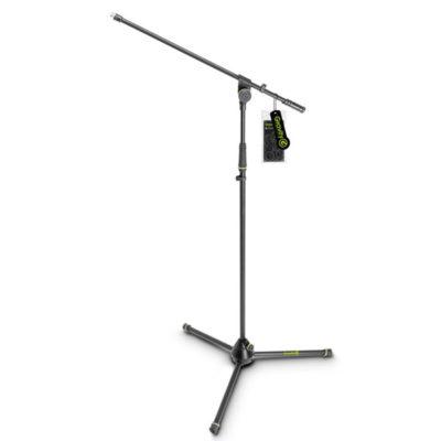 GRAVITYGMS4311B Microphone Stand with Folding Tripod Base and 1-Point Adjustment Boom GRAVITY GMS4311B ขาตั้งไมโครโฟน แบบเหล็ก Boom ยาว 79 ซม ปรับความสูงได้ปรับสูงสุดได้ถึง 169 ซม. และต่ำสุด 103 ซม. เคลื่อนย้ายสะดวก เนื่องจาก มีน้ำหนักเพียง 2.7 กก. เวลาพับเก็บสำหรับเคลื่อนย้าย ยาว 100 ซม.GRAVITYG MS 4311 B Microphone Stand