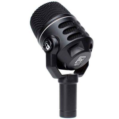 EVND46 DYNAMIC SUPERCARDIOID INSTRUMENT MICROPHONE EV ND46ไมโครโฟน ไมค์สำหรับจ่อเครื่องดนตรี แบบไดนามิก ตอบสนองความถี่ 70 - 18,000 HzELECTRO-VOICEEV ND46Instrument Microphone