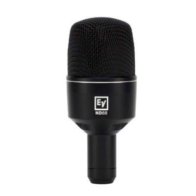 EVND68 DYNAMIC SUPERCARDIOID BASS DRUM MICROPHONE EV ND68ไมโครโฟน ไมค์สำหรับจ่อเครื่องดนตรี แบบไดนามิกไมค์สำหรับกลองชุด ตอบสนองความถี่ 20 - 11,000 HzzELECTRO-VOICEEV ND68Instrument Microphone