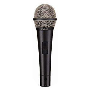 EVPL-24S ENTRY‑LEVEL DYNAMIC VOCAL MICROPHONEwith on/off switch. EV PL-24S ไมค์สำหรับร้อง/พูด มีสวิตช์ เปิด(ON)/ปิด(OFF) แบบไดนามิก ทิศทางรับเสียงแบบSUPERCARDIOIDElectro-voice PL-24SVOCAL MICROPHONE