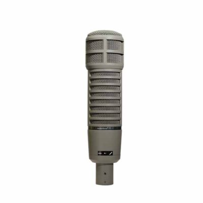 EVRE20 BROADCAST ANNOUNCER MICROPHONE W/ VARIABLE‑D EV RE20 ไมค์สำหรับงานติดกล้องบรอดคาซท์ไมค์สำหรับบันทึกเสียง และจ่อเครื่องดนตรี แบบไดนามิกELECTRO-VOICE RE20BroadcastMicrophone