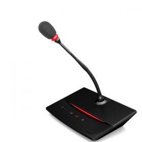 TELEVIC D-Cerno CD-Cerno Chairman Discussion Unit 30 cm Microphone TELEVIC D-Cerno Cชุดไมค์ประชุม สำหรับ ประธาน ระบบดิจิตอลก้านไมโครโฟนยาว 30 ซม.พร้อมสายยาว 2 เมตร TELEVIC D-Cerno C ไมโครโฟนห้องประชุม