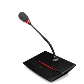 TELEVIC D-Cerno DDelegate Discussion Unit 30 cm Microphone TELEVIC D-Cerno D ชุดไมค์ประชุม สำหรับ ผู้ร่วมประชุม ระบบดิจิตอลก้านไมโคโฟนยาว 30 ซม.พร้อมสายยาว 2 เมตร