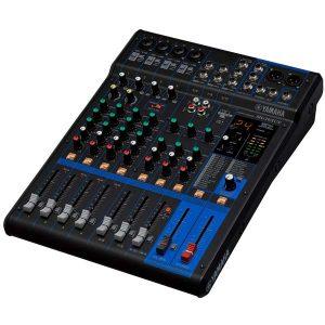 YAMAHA MG10XUF เครื่องผสมสัญญาณเสียงอนาล็อก 10 ชาแนล Analog Mixing Console Max. 4 Mic / 10 Line Inputs (4 mono + 3 stereo) / 1 Stereo Bus / 1 AUX (incl. FX)