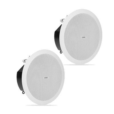 "QSCAD-C4T-LP 4.5"" 150° conical DMT QSC AD-C4T-LP ลำโพงติดเพดาน 2 ทาง ขนาด 4.5 นิ้ว 30 วัตต์ แบบไลน์โวลล์ 70V/100V QSC AD-C4T-LPceiling speaker"