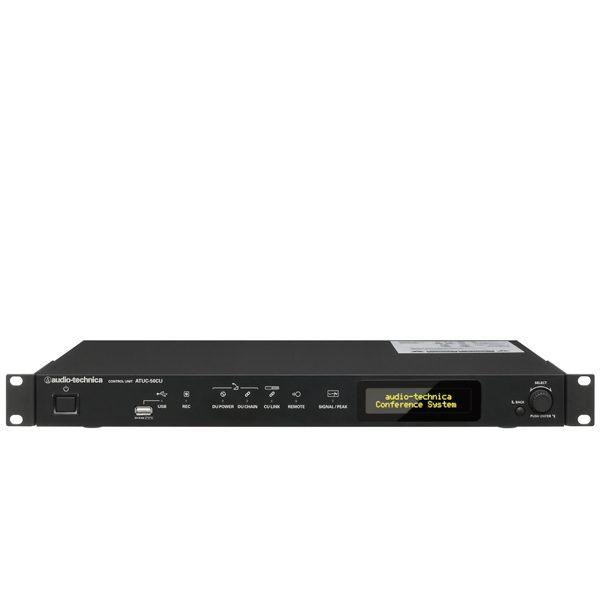 AUDIO-TECHNICA ATUC-50CU เครื่องควบคุมไมโครโฟนประชุม พร้อม Feedback Suppressor ในตัว มีการควบคุมการพูดประชุมทั้งหมด 3 โหมดสนทนา ให้คุณภาพเสียงชัดเจน