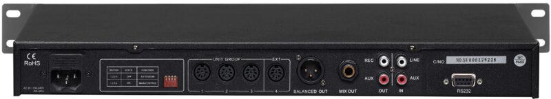 SOUNDVISION DCS-900M เครื่องควบคุมชุดไมค์ประชุม ดิจิตอล รองรับการประชุมสูงสุด 5,000 ชุด สามารถบันทึกเสียงประชุมลง USB ได้ มีฟังก์ชันการทำงาน 6 ฟังก์ชัน