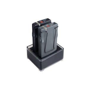 JTS TG-10CH2 Dual slot Charging Stand JTS TG-10CH2เครื่องชาร์ตแบตเตอร์รี่ ของชุดทัวร์ไกด์ TG-102 Slot Charger for Tour Guide