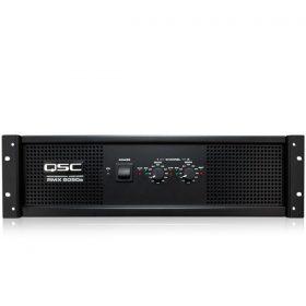 QSCRMX 5050a Two-Channel Power Amplifier QSCRMX 8050aเครื่องขยายเสียง 2 ชาเเนล คลาส H 1800x2 วัตต์ ที่ 4 โอมห์ QSC RMX 5050aเพาเวอร์แอมป์ ขยายเสียง