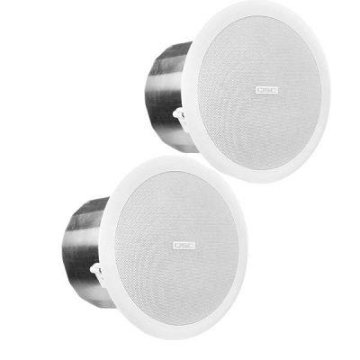 "QSCAC-C6T 6.5"" Full-range, 110° conical QSC AC-C6T ลำโพงติดเพดาน ขนาด 6.5 นิ้ว 30 วัตต์ แบบไลน์โวลล์ 70V/100V QSC AC C6Tceiling speaker"