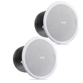 "QSCAC-C8T 8"" Full-range, 100° conical QSC AC-C8T ลำโพงติดเพดาน ขนาด 8 นิ้ว 80 วัตต์ แบบไลน์โวลล์ 70V/100V QSC AC C8Tceiling speaker"