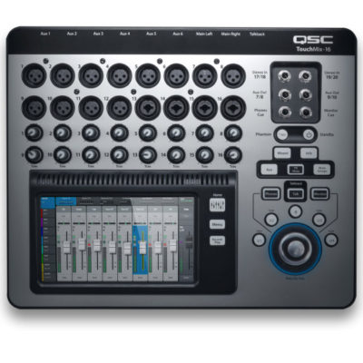 QSC TouchMix-16 Digital Mixers 22 inputs 16 Mic/Line, 4 Lineเครื่องผสมสัญญาณเสียง ดิจิตอล มิกเซอร์ ดิจิตอล QSC TouchMix-16 มิกเซอร์ ดิจิตอล