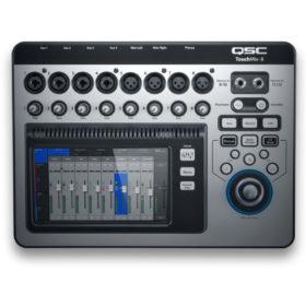 QSC TouchMix-8 Digital Mixers 14 inputs 8 Mic/Line, 4 Lineเครื่องผสมสัญญาณเสียง ดิจิตอล มิกเซอร์ ดิจิตอล QSC TouchMix-8 มิกเซอร์ ดิจิตอล