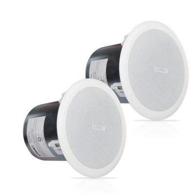 "QSCAC-C4T 4.5"" Full-range, 140° conical QSC AC-C4T ลำโพงติดเพดาน ขนาด 4.5 นิ้ว 16 วัตต์ แบบไลน์โวลล์ 70V/100V QSC AC C4Tceiling speaker"