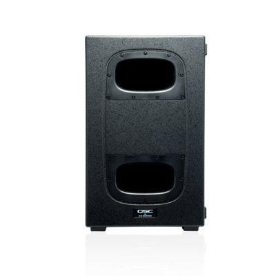 QSC KS212C ตู้ลำโพงซับวูฟเฟอร์ 2x12 นิ้ว 3600 วัตต์ มีแอมป์ในตัว คลาส D ตอบสนองความถี่ 44 Hz - 104 Hz QSC KS212C Subwoofer QSC KS212C ลำโพงซับวูฟเฟอร์