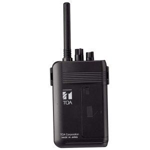 TOA WM-2100 FX Portable Transmitter 5 channel TOA WM-2100 FX ชุดทัวร์ไกด์ ตัวส่งสัญญาณแบบพกพา 5 ชาแนล WM-2100 Portable Transmitter เครื่องส่งสัญญาณพกพา